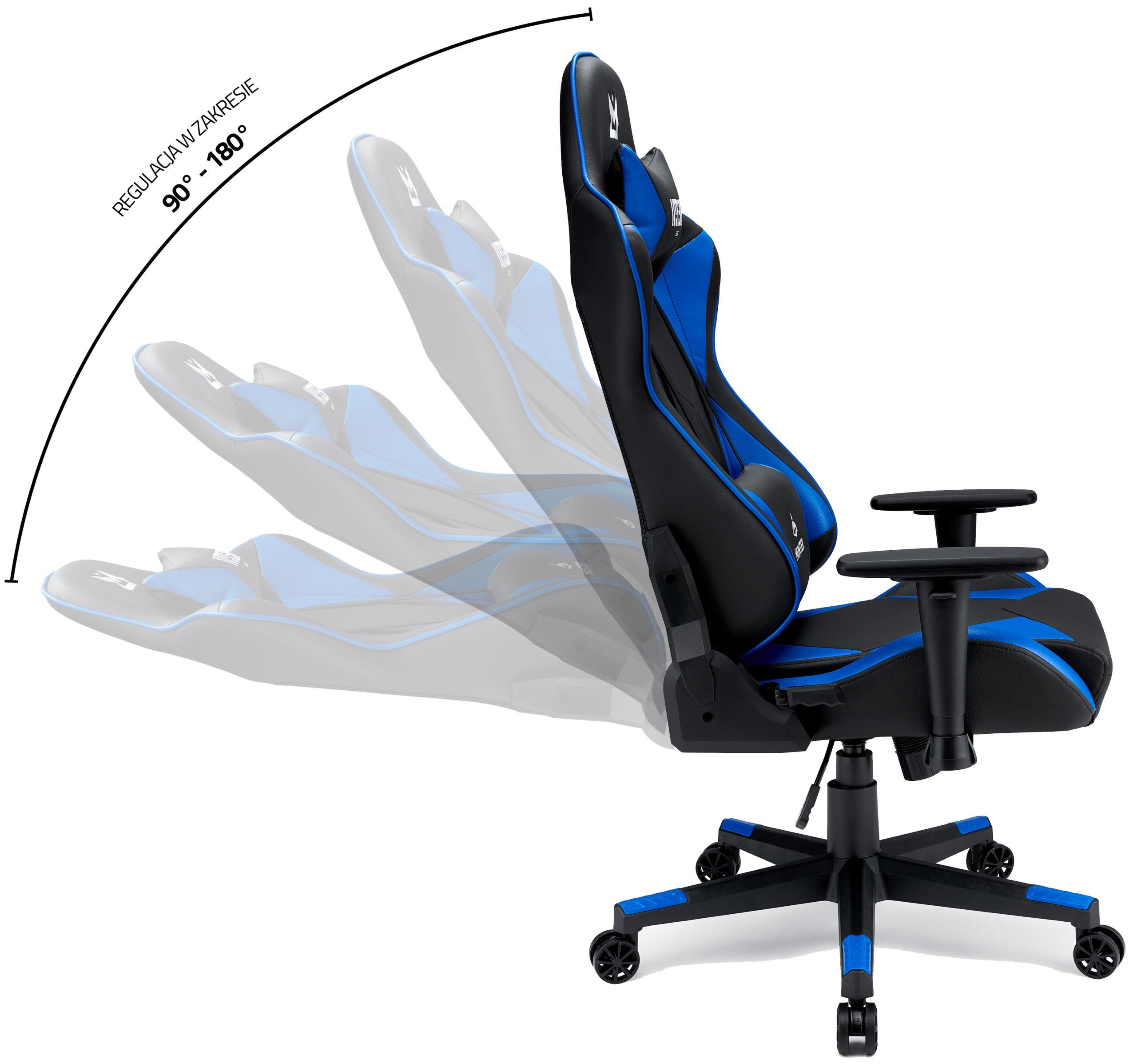 Fotel Gamingowy IMBA Hunter Blue