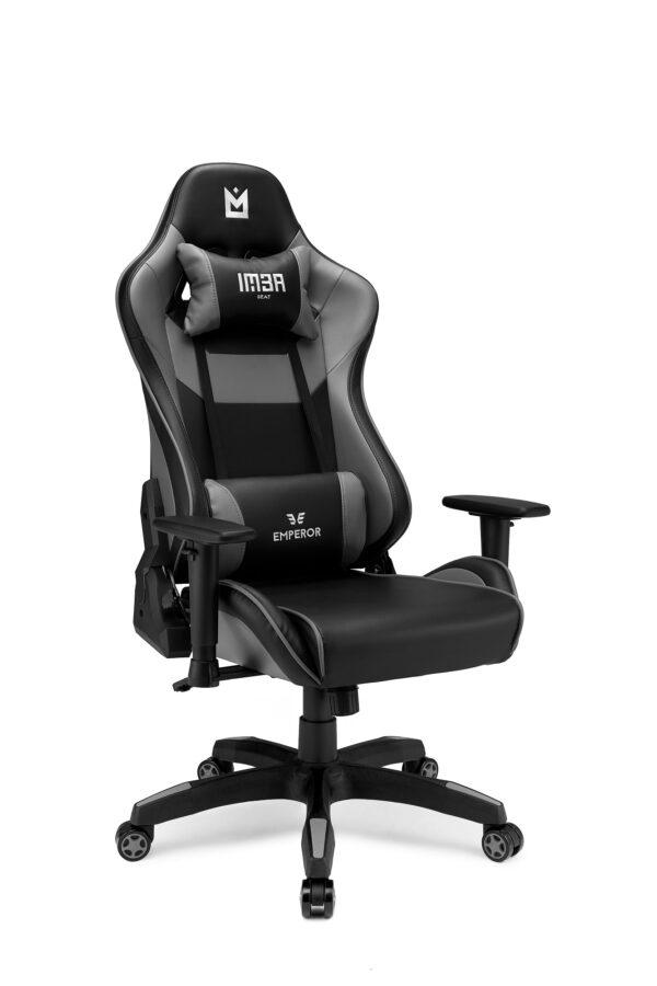 IMBA Emperor Gray szary fotel gamingowy