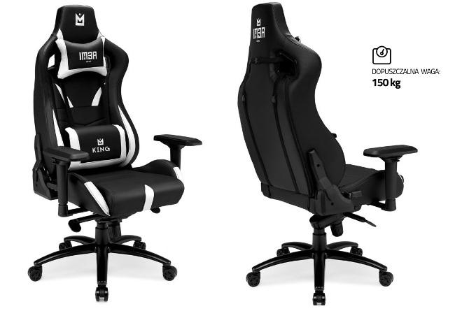 Pierwszy fotel gamingowy