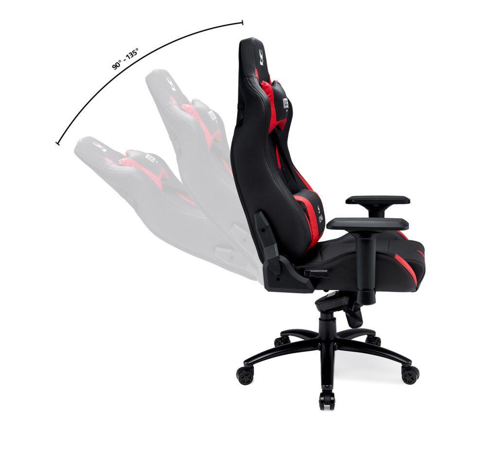 Czerwony fotel IMBA KING